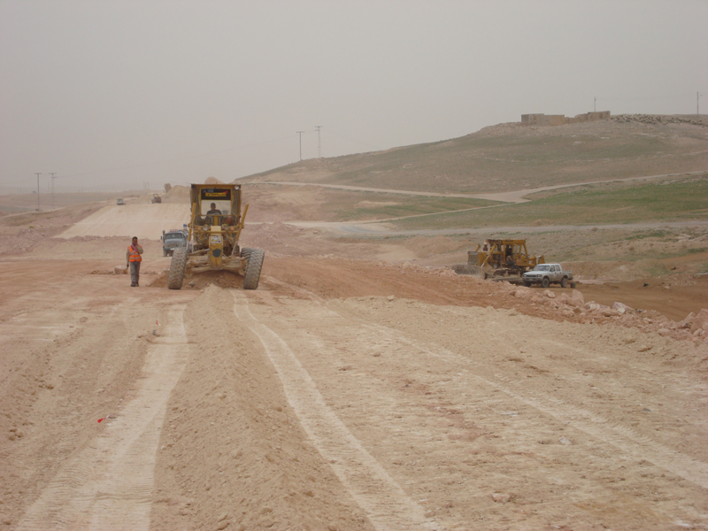 Zarqa- Azraq- Omary Highway- Section 1